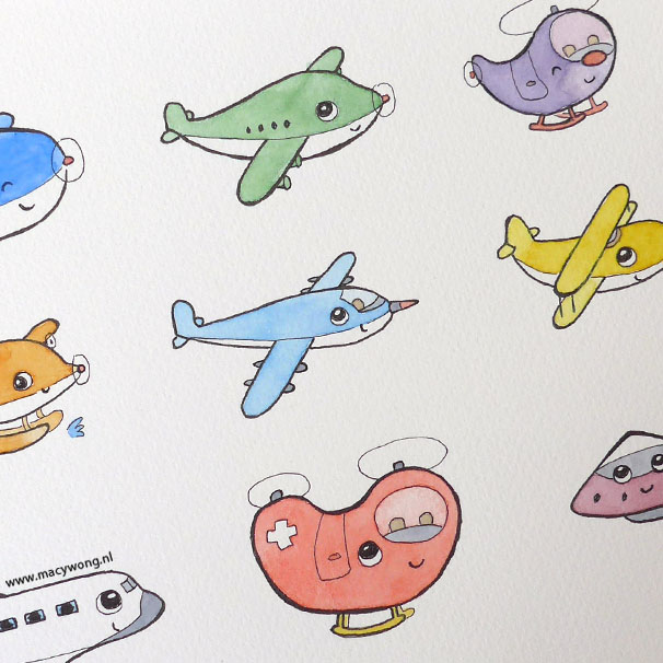 Little airplanes
