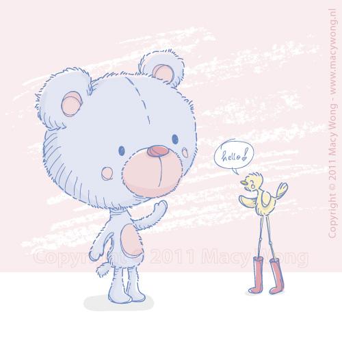 Sketchy-2011-Teddy bird