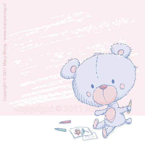 Sketchy-2011-Teddy drawing